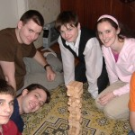 A former RLI participant with Ukrainian orphans
