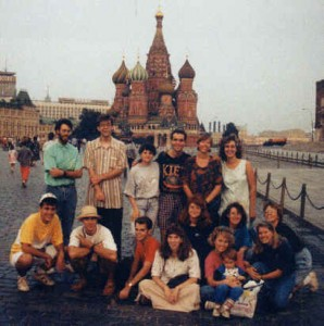 The first church-planting trip: USSR, 1991